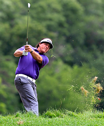 Mickelson, shown here at the Greenbrier Classic, has never won a Scottish Open or British Open title.