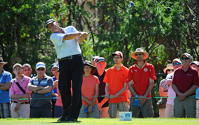 Rocco Mediate shot a final-round 64 to pull away for a seven-shot victory.