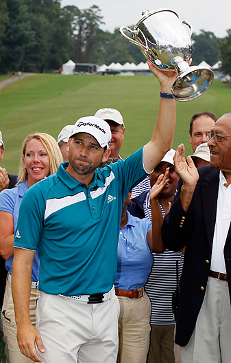 Sergio Garcia earned his first PGA Tour victory since the 2008 Players Championship.