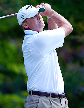 Steve Stricker won the Payne Stewart Award, which is presented to a player who shows respect for the traditions of the game, is geared toward charity and presents himself in a professional manner.