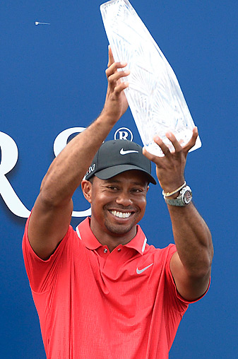 Tiger Woods won his second career Players Championship.