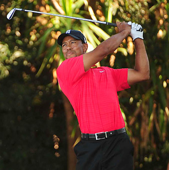 Tiger Woods won the Arnold Palmer Invitational by five shots.