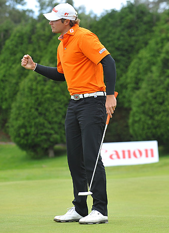 Peter Uihlein won the Madeira Islands Open by two strokes.