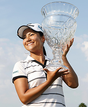 Ai Miyazato rose to No. 1 in the world for the first time in her career.