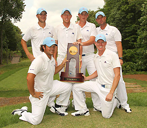 Augusta State beat 10-time national champion Oklahoma State in the final match.