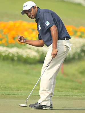 Shiv Shankar Prasad Chowrasia of India shot a final-round 67 to win the Avantha Masters.