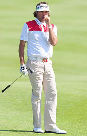 Bubba Watson apologized on Twitter for his comments during the French Open.