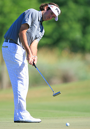 Bubba Watson made six birdies, an eagle and two bogeys in the opening round at the Zurich Classic.