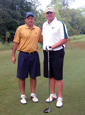 Local pharmacist Ken Murphy was paired with Roger Clemens at the Golf.com World Amateur Handicap Championship in Myrtle Beach, S.C.