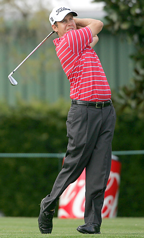 Two-time heart transplant recipient Erik Compton is in the field this week at Bay Hill.