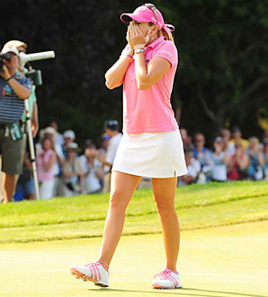 Paula Creamer won the U.S. Women's Open by four shots for her first career major title.