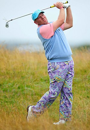 John Daly made seven birdies and one bogey en route to a 66.