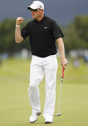 Simon Dyson won the Irish Open by one shot.