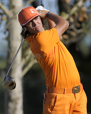 The PGA Tour will heavily promote young stars like reigning Rookie of the Year Rickie Fowler in 2011.