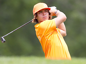 Rickie Fowler came up six shots short of qualifying for the U.S. Open on Monday.