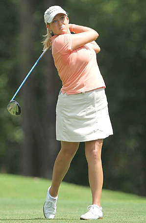 Cristie Kerr is coming off a 12-shot win two weeks ago at the LPGA Championship.