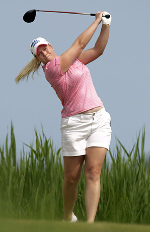 Brittany Lincicome shot a bogey-free 66 in the final round.