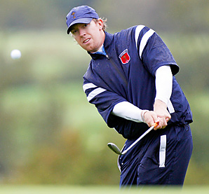 Hunter Mahan is playing in his second Ryder Cup this week.