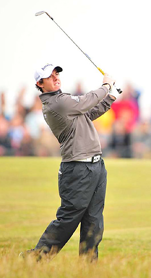 Rory McIlroy was never a factor in last week's Open Championship.