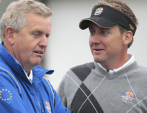 Colin Montgomerie will allow Ian Poulter and his teammates to use Twitter, as long as they don't give away team secrets.