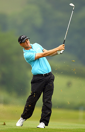 Alexander Noren finished at 9-under 275 at Celtic Manor, where he'd led since the second round.