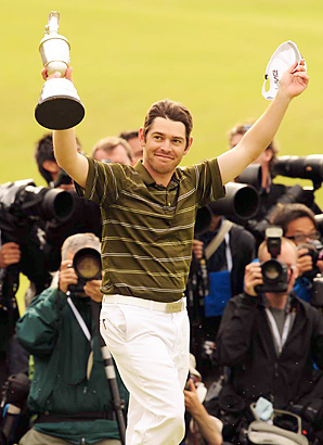 He wasn't a household name, but Louis Oosthuizen's experience in windy conditions made him a great fit for St. Andrews.