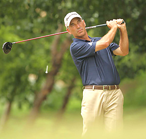 Corey Pavin did not promise Tiger Woods a spot on the U.S. Ryder Cup team this week.