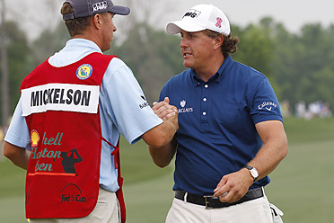 Phil Mickelson earned his first victory of the 2011 season, and 39th of his career.