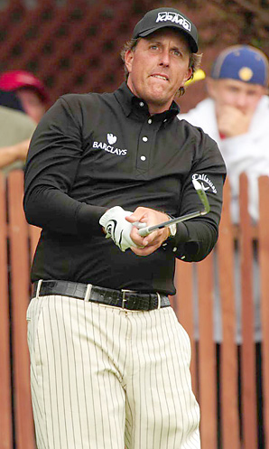 Phil Mickelson is the only player in the top 10 who entered the Scottish Open.
