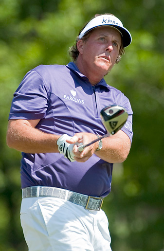 Phil Mickelson is the defending champion this week in Houston.