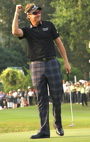 Ian Poulter won his 10th career European Tour title and second this season.