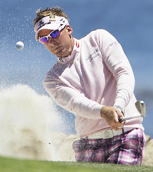 Ian Poulter is looking to win his first career major championship this week.