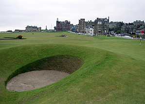 The famed 17th hole will play 40 yards longer this year at St. Andrews.