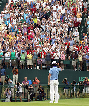 Rory McIlroy became a fan favorite while winning the U.S. Open Sunday.