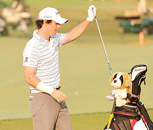McIlroy injured his right arm in first round at this year's PGA Championship.