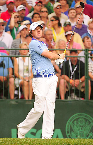 Rory McIlroy finished at 16 under, four shots better than the U.S. Open scoring record formerly held by four players.