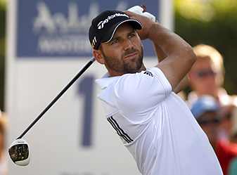 Sergio Garcia shook off two early bogeys with two birdies on a flawless back nine.