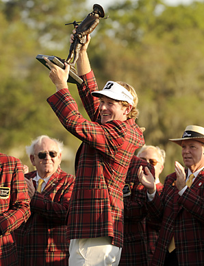 Brandt Snedeker won the 2011 Heritage in a playoff over Luke Donald.