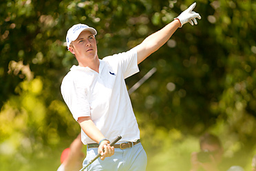 Jordan Spieth shot a 77 Sunday at the Byron Nelson Championship.