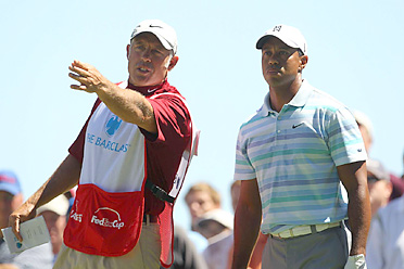 Steve Williams, the caddie for Tiger Woods, is making several trips back home to New Zealand.