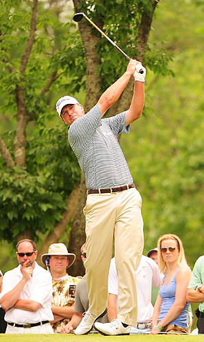 Steve Stricker led by four shots with nine holes to play, then held on to win by one and earn his 10th career victory.