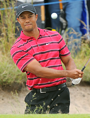 Tiger Woods shot a final-round 65 to finish in fourth place at the Australian Masters.