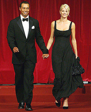 Tiger Woods and Elin Nordegren (shown here in 2006) have two children.