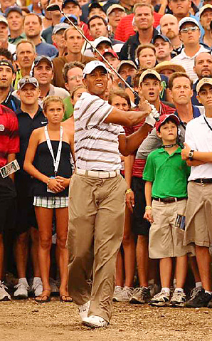 For much of 2010, all eyes were on Tiger Woods as he lost his No. 1 ranking during a winless, scandal-plagued season.