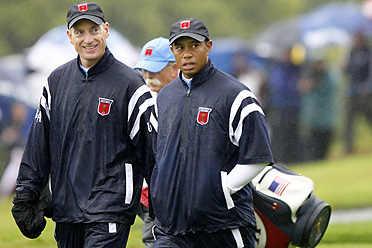 Jim Furyk, Tiger Woods and the Americans have lost five of the last seven Ryder Cups.