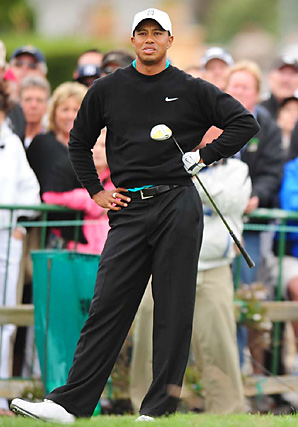 Tiger Woods hasn't come close to the form he showed while dominating the U.S. Open at Pebble Beach in 2000.