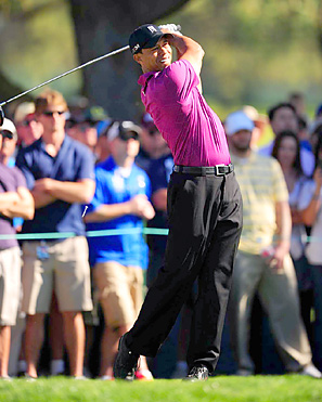 """Tiger Woods is approaching the 10-year anniversary of his 2001 Masters win, which completed the """"Tiger Slam."""""""