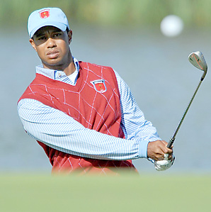 Tiger Woods has a lifetime Ryder Cup record of 10-13-2.