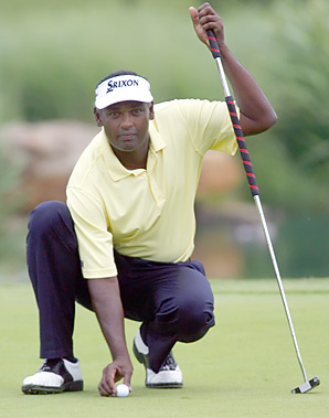 At age 47, Vijay Singh has fallen out of the top 50 in the world rankings.