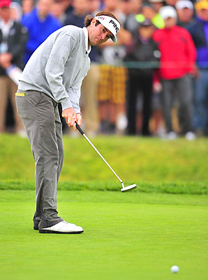 Bubba Watson drained a 12-footer on the 72nd hole for birdie and a one-shot victory.